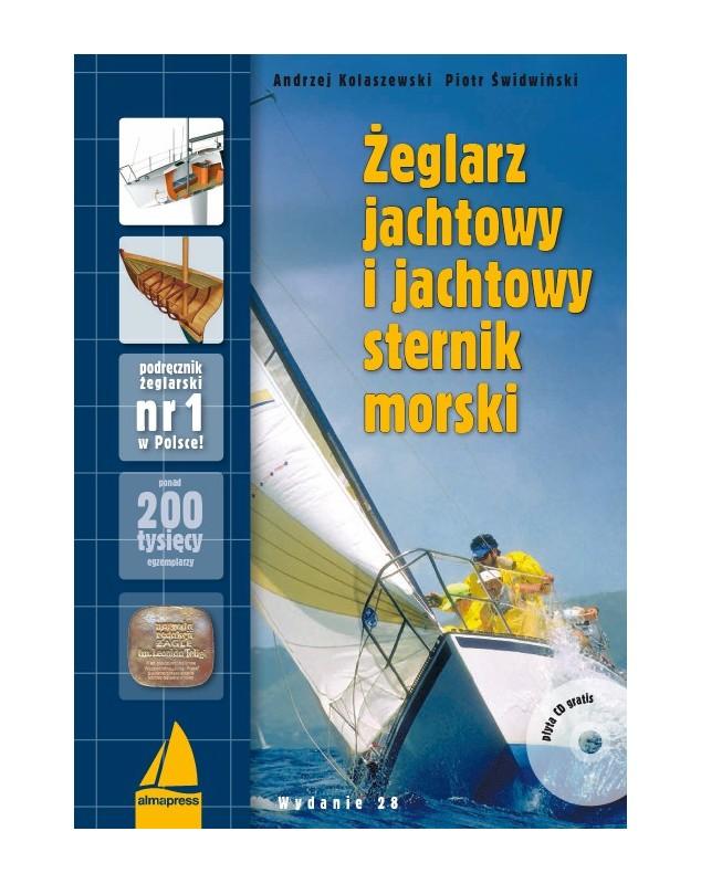 Żeglarz jachtowy i jachtowy sternik morski + CD wyd. 28.
