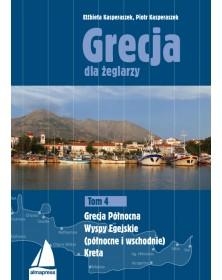 Grecja dla żeglarzy Tom 4.