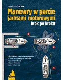 Manewry w porcie jachtami...
